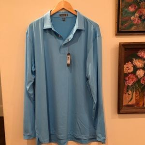 Brand New with Tags Peter Millar Long Sleeve Shirt
